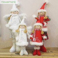 New Year Dolls Angel Dolls Stretched Dolls White Skirt Little Girls Christmas Gifts New Year Gifts