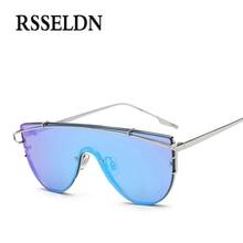 RSSELDN 2017 Newest Oversized Metal Frame Women Sunglasses Brand Designer Sun Glasses Men Shades Oculos de sol