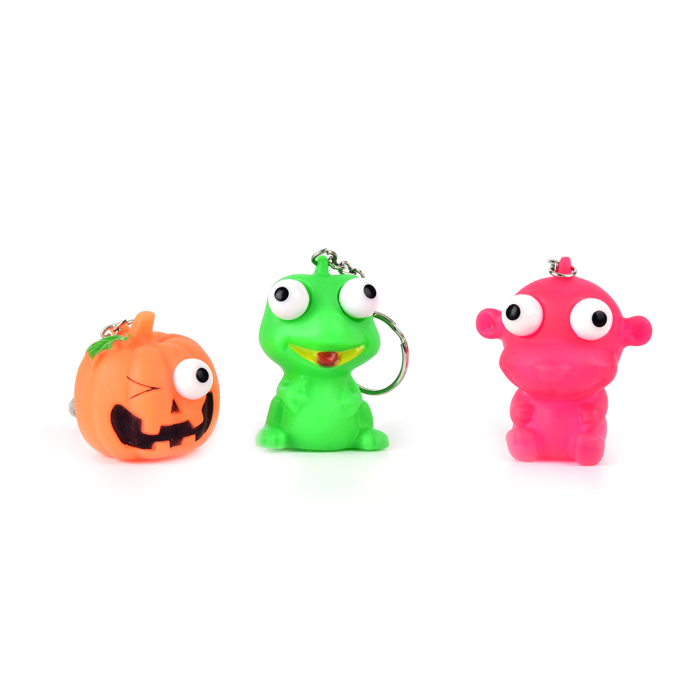 Mobile Phone Straps Creative Anti Stress Ball Animal Vent Toy Novelty Products Phone Strap Fun Extruding Big Raised Eyes Doll Keychain Squeezing Toys Grade Products According To Quality Cellphones & Telecommunications