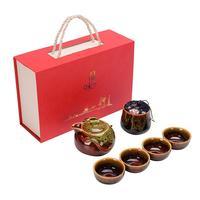 Chinese Tea Ceremony Tea Suit Ceramic Teaset China Travel Kung Fu Tea Sets Portable Teacup Teapot Water Cup Drinkware Decor