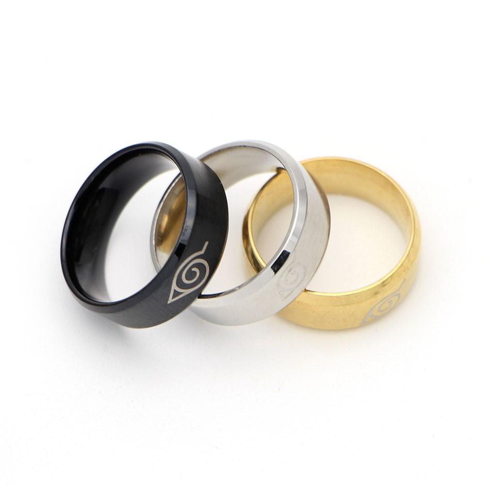 Konoha Symbol Rings 2