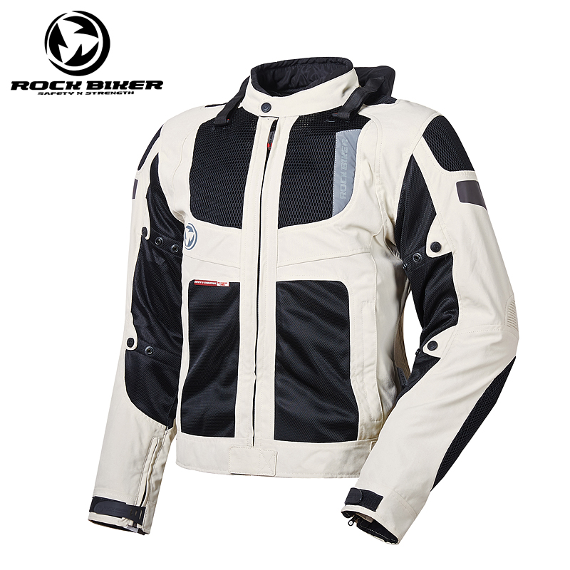Men's Motorcycle Jacket Summer Motorcycle Racing Jackets Breathable Motorcycle Full Body Protective Gear Armor Racing Clothing herobiker armor removable neck protection guards riding skating motorcycle racing protective gear full body armor protectors
