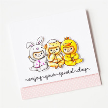 Eastshape Stamps Clear and/with Dies Easter for Card Making Cutting Animal Scrapbooking Metal Bunny Embossing Craft New