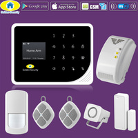 Golden Security DIY KIT S5 WIFI GSM Alarm Systems Security Home Gas Detector APP Control High