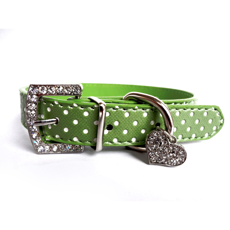 Hewan peliharaan Anjing Kerah Polka Dot Pola Aksesoris Anjing Untuk - Produk hewan peliharaan - Foto 5