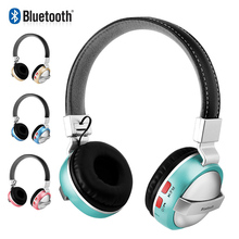 Folding Bluetooth Headphones Wireless Casque Audio Over Ear Headset HD Stereo Bass Subwoofer Headphone with Mic Support TF Card стоимость