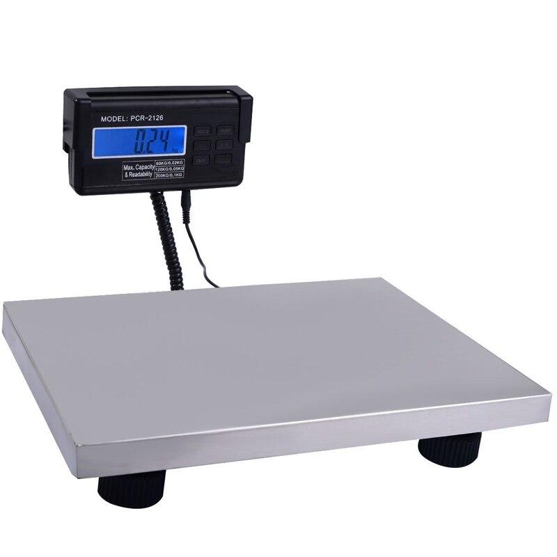 Новые Почтовые весы сверхмощные электронные весы напольные весы коммерческие весы цифровые платформы весы 660LB/300 кг