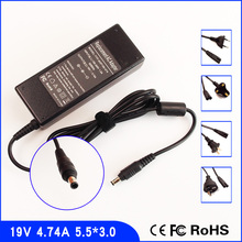 19 V 4.74A Laptop Ac Adapter Netzteil + Kabel für Samsung P230 P330 P428 P430 P480 P530 P580