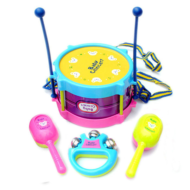 Baby Hand Drum Music Child 2 Pat Drum Baby Toy 0 1 Year Old 6 12 Months Old 78