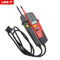 1pcs UNI T UT18C Auto Range Voltage Meter Continuity Tester LCD LED Indication Date Hold RCD