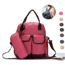2017 New Small Dot Classic Multifunctional Large Capacity Multifunctional 3 Set Mummy Bags Handbag Top handle
