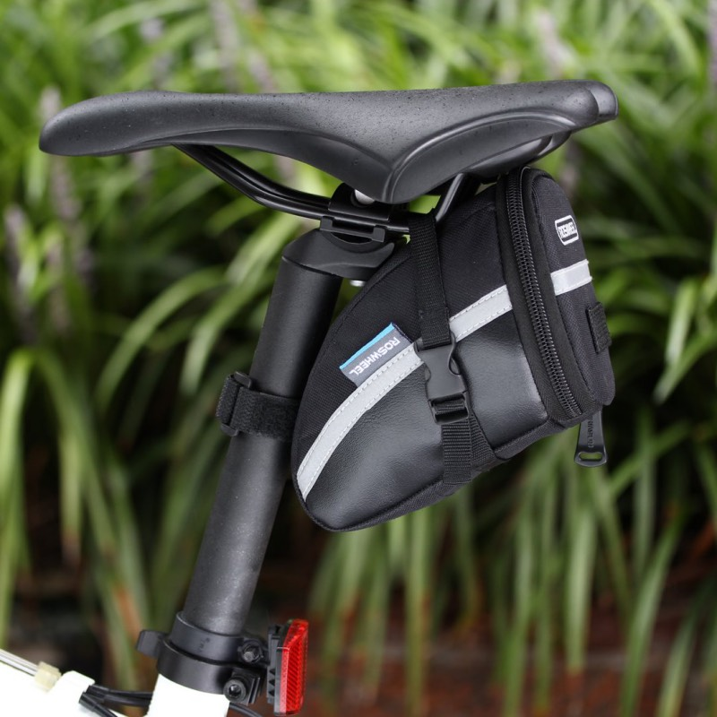 For Xiaomi Mijia MI Qicycle EF1 Electric Scooter Foldable E-Bike Bicycle Storage Package Rear Pannier Seat Tool Saddle Tail Bag