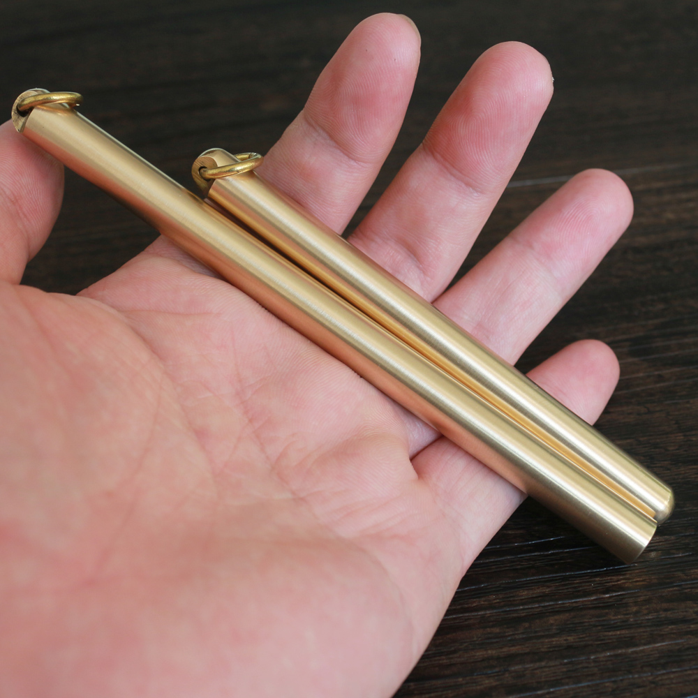 Black Ink Explosion-proof Brass Handmade Signature Pen Retro Pen Pure Copper Pen Neutral Water PenBlack Ink Explosion-proof Brass Handmade Signature Pen Retro Pen Pure Copper Pen Neutral Water Pen
