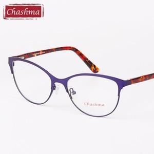 Image 5 - Chashma Cat Eyes Style Glasses Women Top Quality Female Optical Glasses Frames Eyewear Fashion Eyewear