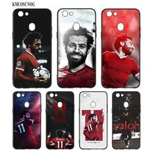 Black Silicon Soft Phone Case Mohamed Salah For OPPO F5 F7 F9 A5 A7 R9S R15 R17 Bag