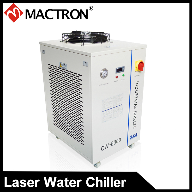 Wysokiej jakości chłodzony laserem system do maszyny laserowej Przemysłowy agregat wodny CW-6000 Laserowy agregat chłodniczy