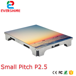 Ultra high definition small pixel pitch P2.5 indoor full color vedio led display screen for advertising meeting,stage,malls