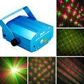 New Hot Mini 4 Patterns Projector Red Green cool Laser Stage Lighting DJ Dance Dsico club ktv home Party Light show system O4S
