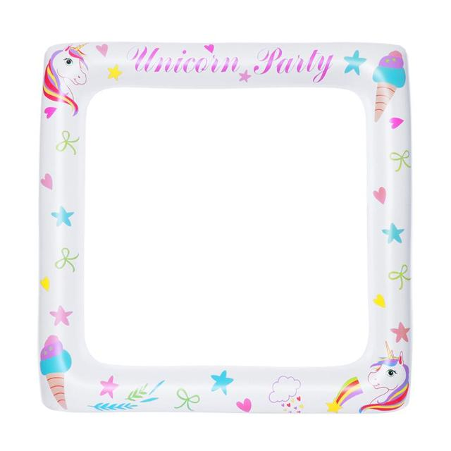Inflatable Frame Unicorn Frame Photo Booth Props Blow Up Party Props