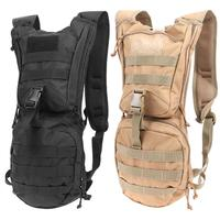 Hilitary Bottle Pouch Tactical Hydration Backpack Water Bag Outdoor Camping Camelback Nylon Mochila de Hydration 2L Water Bags