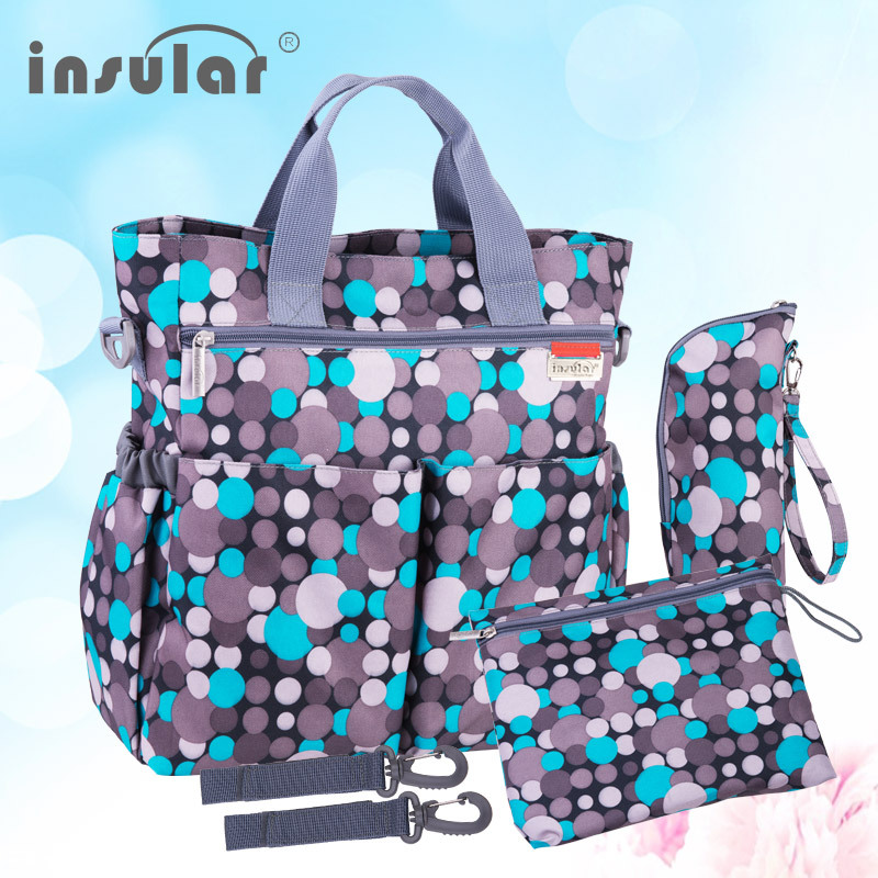 insular fashion baby diaper bag nappy bags waterproof changing bag multifunct. Black Bedroom Furniture Sets. Home Design Ideas