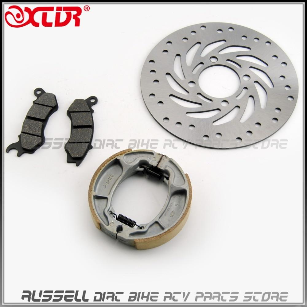Front Brake Disc Pad Shoe Kits For Honda Pcx 125 Vision Nsc110 Nsc