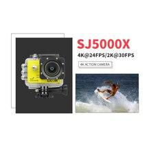Hot Original SJCAM SJ5000X Elite Gyro Sport Action Camera WiFi 4K 24fps 2K 30fps Diving 30M Waterproof NTK96660 SJ CAM Sports DV