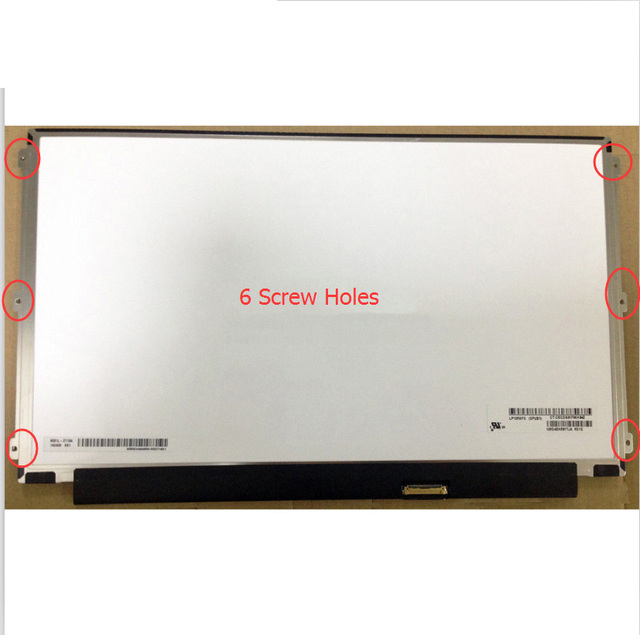 "LP125WF2-SPB4 IPS FHD Full-HD matte 1920X1080 LP125WF2 SPB4 Laptop for 12.5"" Replacement LP125WF2 (SP)(B4) LCD LED Display"