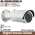 HIK Ds-2cd2642fwd-is 4mp Vari-focal Bullet Network ip Camera HIK Audio alarm Wdr Ip67 Weather-proof Infrared Mobile ONVIF