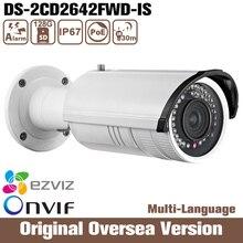 Hikvision Ds-2cd2642fwd-is 4mp Vari-focal Bullet Network ip Camera HIK Audio alarm Wdr Ip67 Weather-proof Infrared Mobile ONVIF