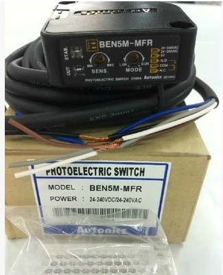 False punishment ten Otto Nicks AUTONICS photoelectric switch BEN5M-MFR original genuine original otto nicks autonics photoelectric switch ben3m pfr