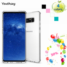 Youthsay For Case Samsung Galaxy Note 8 Case Transparent Cases For Samsung Galaxy Note 8 Cover For Samsung Note 8 Cover 6.3 inch