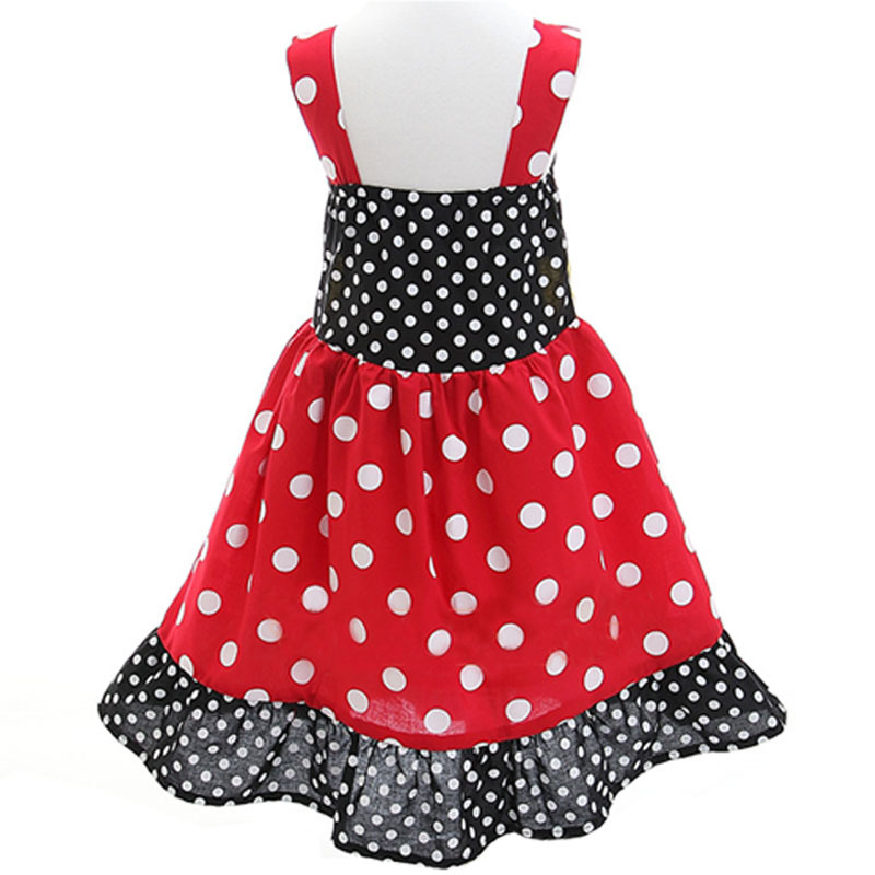 Aliexpress.com : Buy Toddler Girl Sleeveless Minnie Dress Summer ...