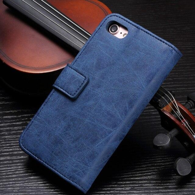 Funda de teléfono de lujo Funda de cuero con tapa para samsung Galaxy S5 S6 S7 S8 S9 plus Note 5 completa funda portatarjetas en efectivo