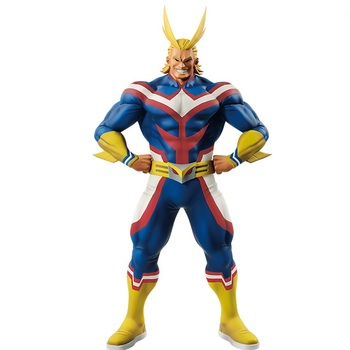 Banpresto Action Figure My Hero Academia All Might Figure PVC Collection Model Toys All Might Doll Brinquedos T30 цена 2017
