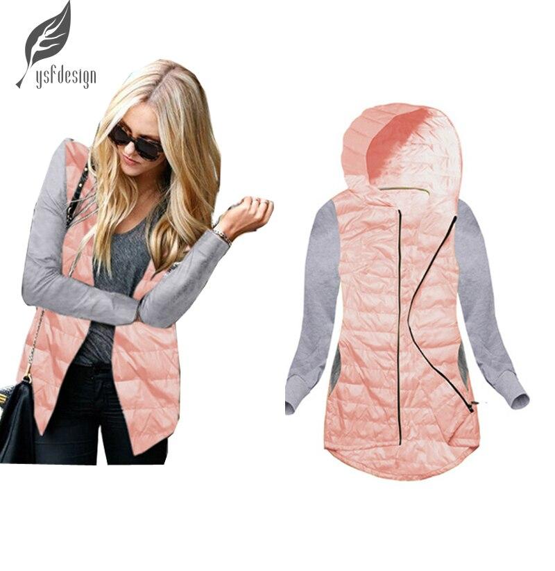 Sonbahar Kış Yeni Moda Kadınlar Bayanlar Casual Uzun Kollu Kapşonlu Kış Sıcak Ceket Coat Kabanlar Tops Kadın Ceket