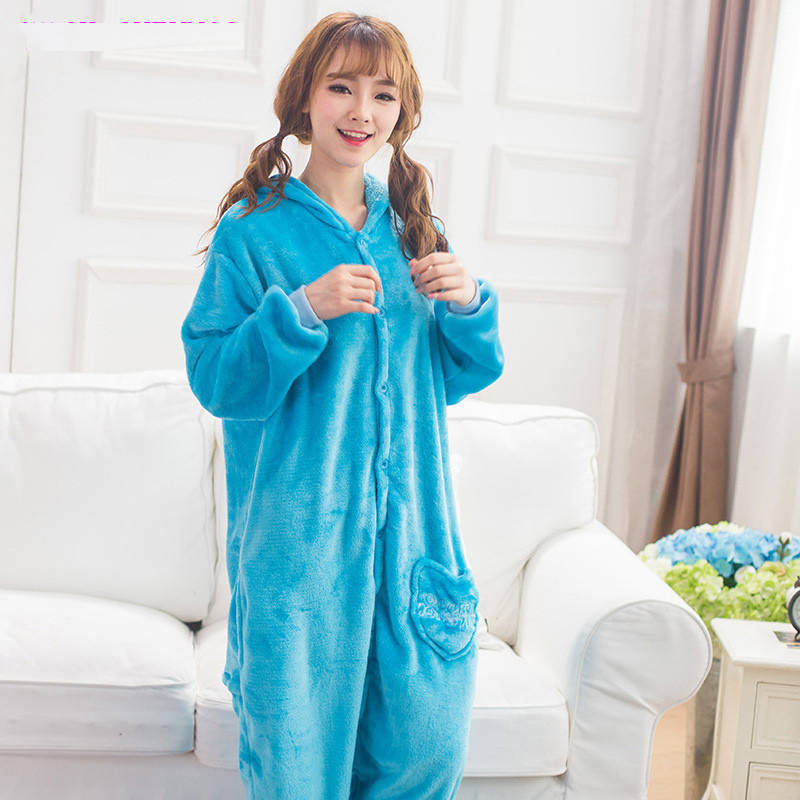 Kigurumi-Blue-Sesame-street-Onesies-Pajamas-For-Adults-Cute-Animal-Cosplay-Pyjamas-Unisex-Cartoon