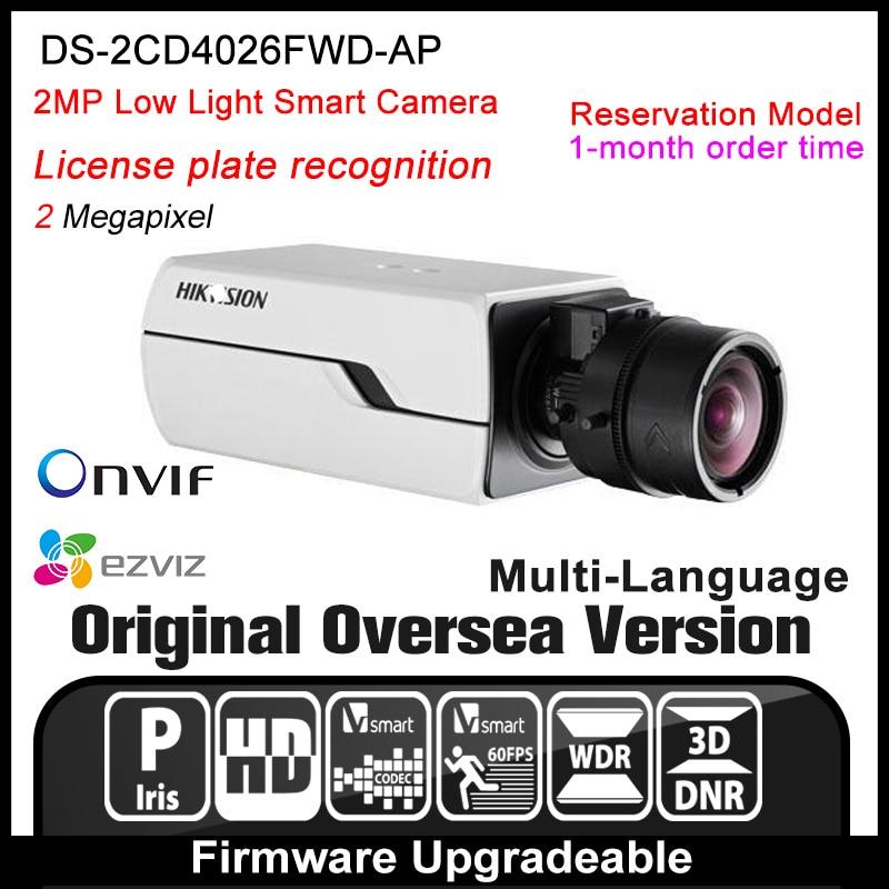 Hikvision   DS-2CD4026FWD-AP Original English Version IP camera 2MP security camera CCTV camera P2P ONVIF POE indoor HD H265 cd диск fleetwood mac rumours 2 cd