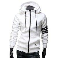 2015 NEW Fashion Men Hoodies Brand Sports Suit High Quality Men Sweatshirt Hoodie Casual Zipper Hoodie
