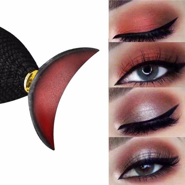 Aplicador de maquillaje perezoso moda mágica sombra de ojos sello Crease ojos herramientas de maquillaje ojos belleza