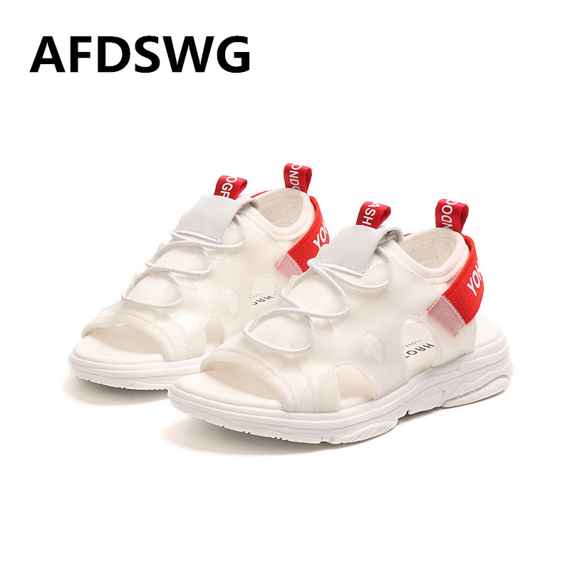 Girls summer beach sandals white PU dress sandals for girls black shoes kids boys sandals pink childrens sandals girls