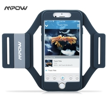 Mpow MSA5 for iPhone 6s 6 Armband Sports Running Workout Silicone Arm band Case Cover w/ Extension Straps for iPhone 6s 6