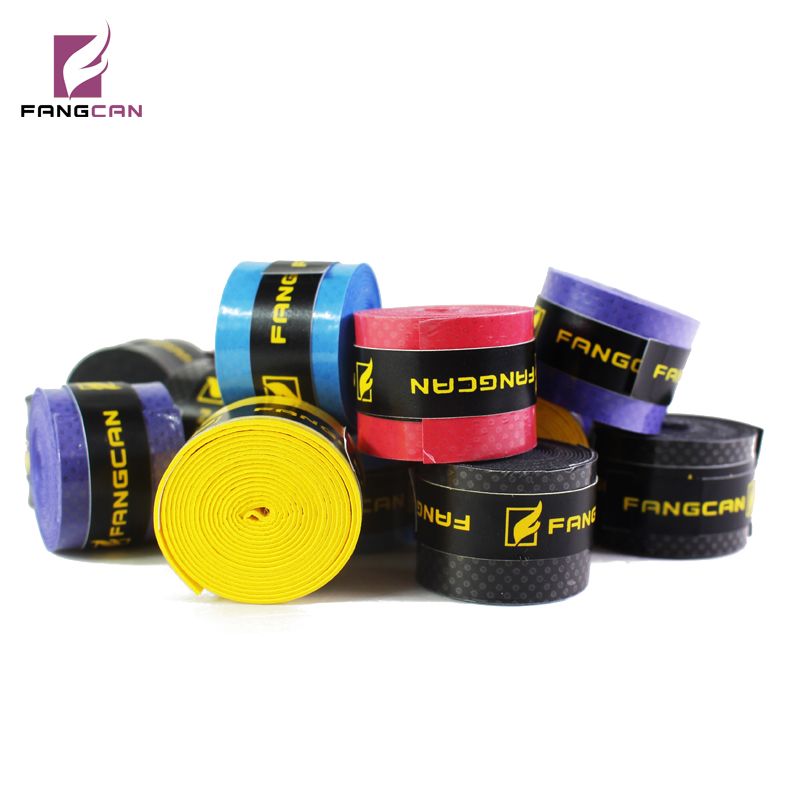 5 Pc/lot FANGCAN Tennis Racket PU Tack Overgrip 0.8mm Thickness Non-slip Sweat Absorbed Soft Wrap Tapes
