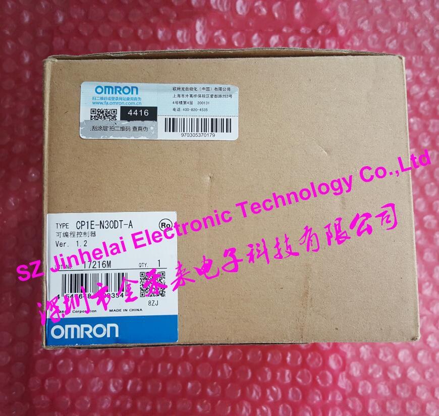 New and original CP1E-N30DT-A  OMRON  PLC controller сплит система roda rs a 30 e ru a 30 e sky