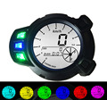 Motorcycle 7 colors speed meter speedometer instrument odometer BWS Motor vehicle LCD display Free shipping