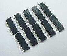 20pcs 2 54 mm 10Pin Stackable Short Legs Female Header For Arduino Shield