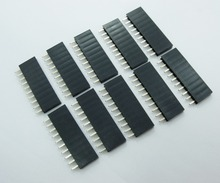 20pcs 2.54 mm 10Pin Stackable Short Legs Female Header For Arduino Shield