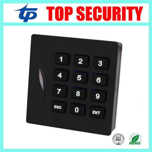 125KHZ RFID card reader weigand26 card access control card reader with keypad IP65 waterproof card reader KR102 ZK software
