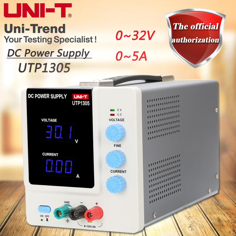 UNI-T UTP1305 single-channel linear DC power supply 0 to 32V / 0 to 5A constant voltage / constant current function