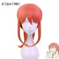 Coshome Miss Kobayashi's Dragon Maid Cosplay Pelucas kobayashi-san mujeres rojo caballo peluca Halloween anime Niñas pelos cortos